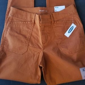 Nwt old navy ankle pixie pants size 4